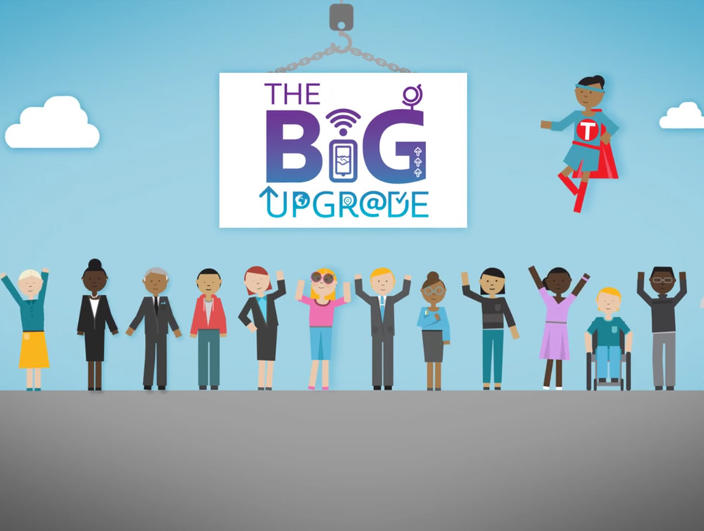 big upgrade blog feature